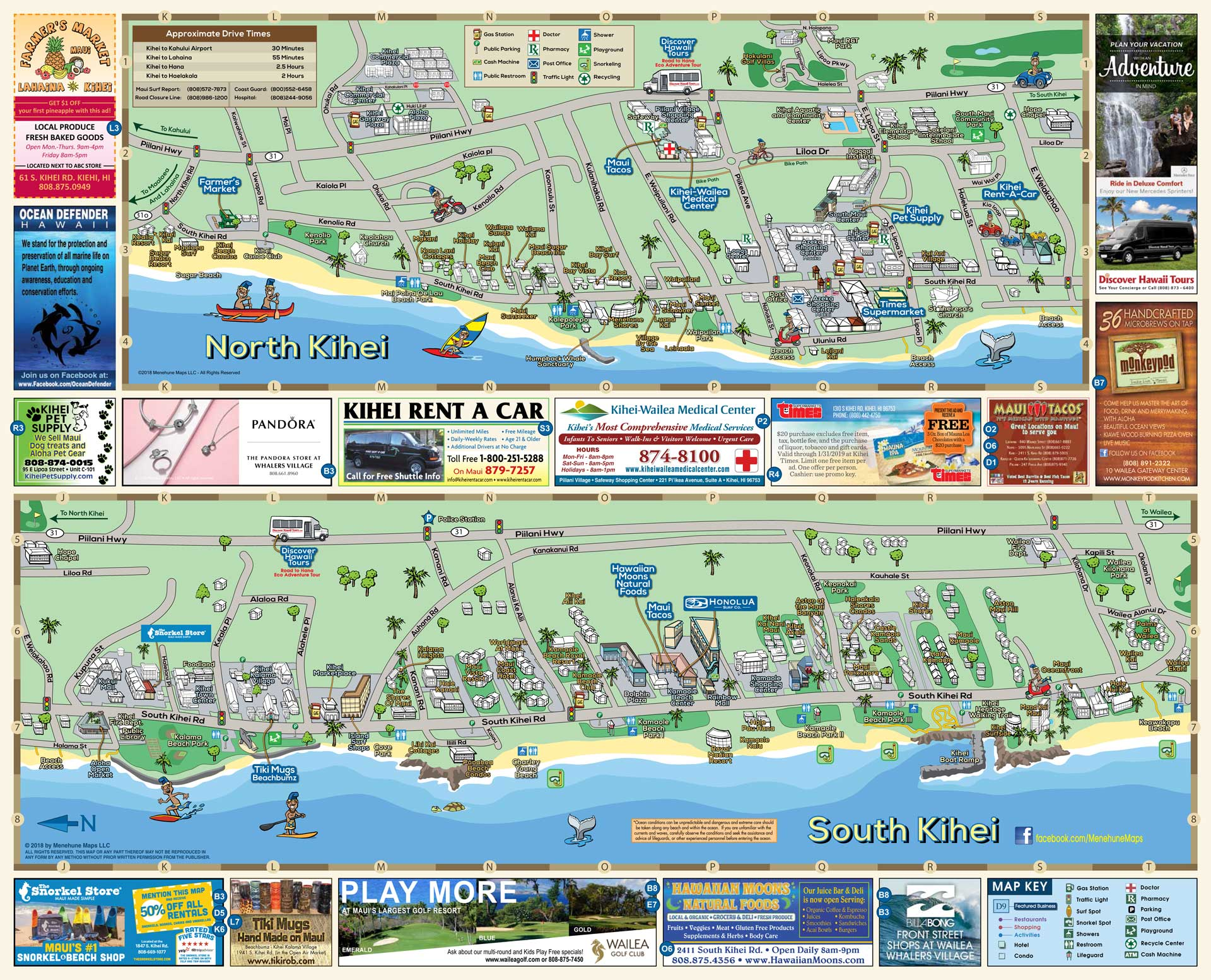 South Maui Map | Menehune Maps on map of cozumel, map of winnipeg hotels, map of holly hill, map of tampa beach, map of lake panasoffkee, map of overseas highway, map of wakulla, map of lower keys, map of cedar key area, map of dry tortugas, map of indian key, map florida, map of west columbia, map of orlando, map of fort lauderdale, map of little conch key, map of old orchard beach hotels, map of roanoke, map of big coppitt key, map of virginia key,