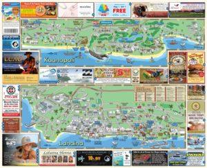 Menehune Maps Hawaii West Maui Map Side B