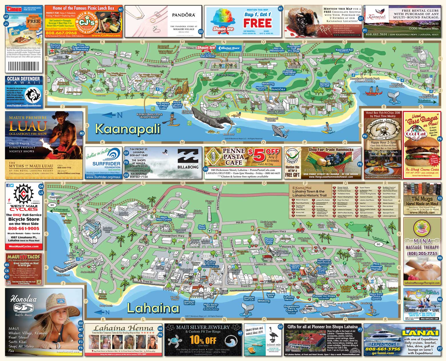 Order FREE Maps | Menehune Maps on
