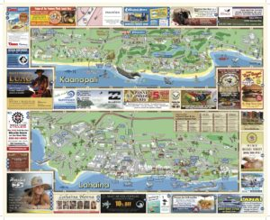 Menehune Maps Hawaii West Maui Map Side B