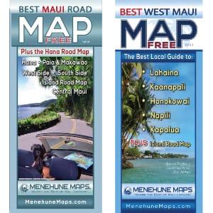 Free Maui Map Set